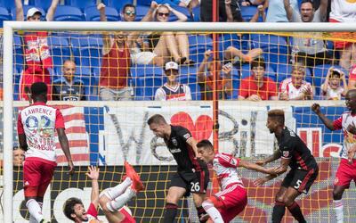 D.C. United rescata un punto en la última jugada del clásico frente a lo...