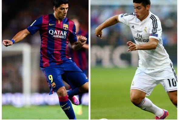 Suárez y James lideran la relación de incorporaciones de sus respectivos...