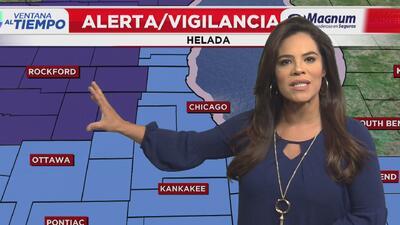 Ventana al Tiempo: Descenso en las temperaturas con poca probabilidad de lluvia este viernes en Chicago