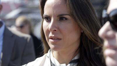 "Kate del Castillo, the actress who spoke with ""El Chapo"" katedelcastillo..."