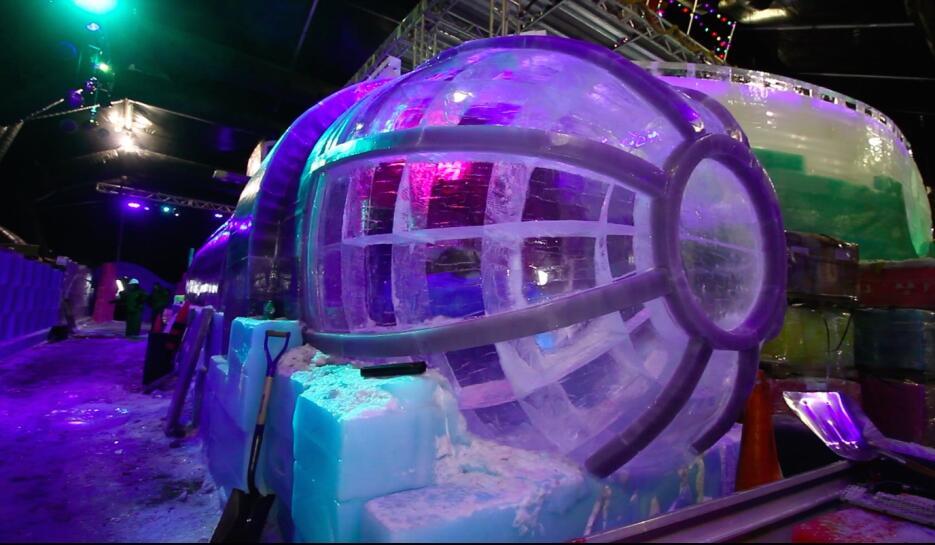 Navidad Caribeña, el tema de la exhibición de esculturas de hielo 'Icela...