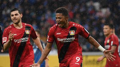 Leverkusen se da un festín a costa del Hoffenheim