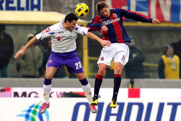 Bolonia recibió a la Fiorentina, dos equipos cerca de la zona baja de la...