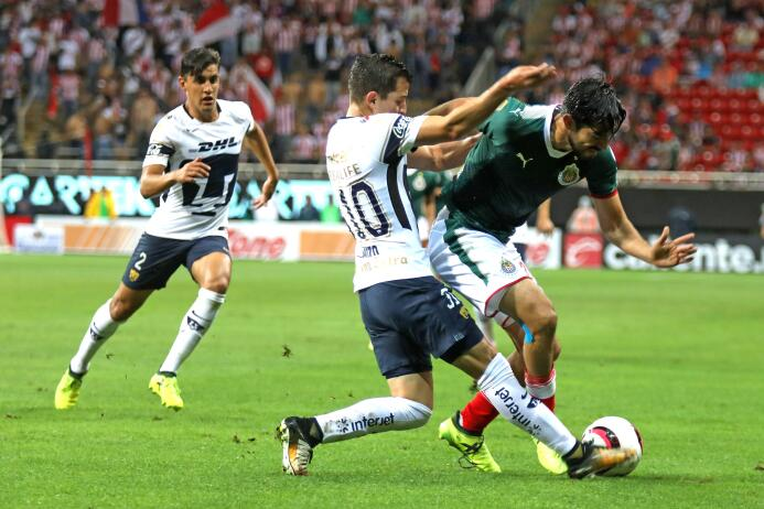 Estadio Chivas: 35,013 espectadores