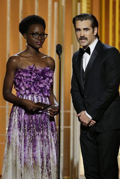 Lupita Nyong'o y Colin Farrell