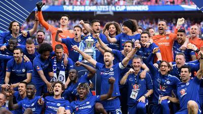 En fotos: Chelsea se coronó campeón de la FA Cup al vencer 1-0 a Manchester United
