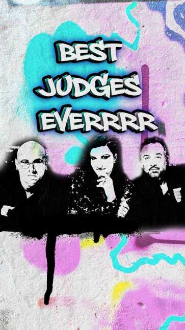 Graffiti time! La Banda has it's own art   La Banda  5-Full-Best-Judges-...