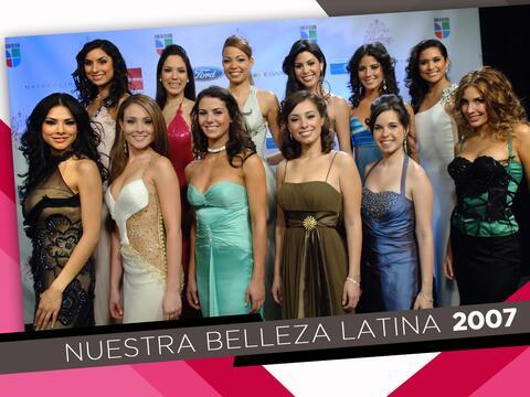 Estas fueron las 12 chicas que compitieron por la corona en la primera t...