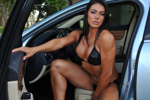 Maria Diaz es la Subcampeona Latinoamericana de Fitness y llegó desde su...
