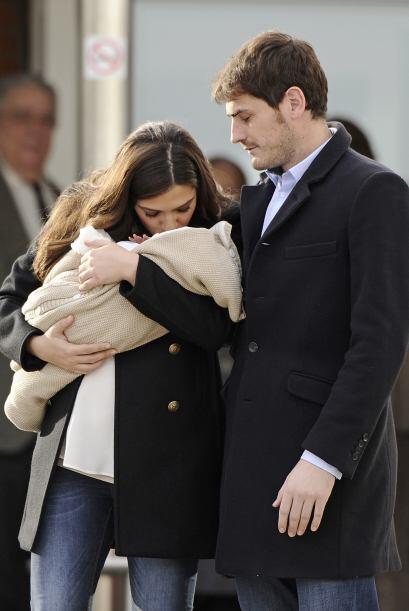 La pareja le dio la bienvenida a su primogénito en enero pasado.