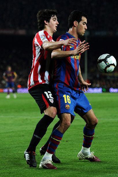 El Barcelona, con varios jugadores titulares ausentes, recibió al Athlet...