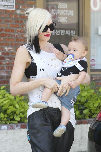 Cada día que pasa vemos más enamorada a Gwen Stefani.