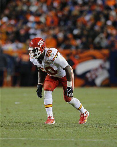 Justin Houston, apoyador externo de los Kansas City Chiefs (AP-NFL)