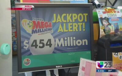 Megamillions alcanza $454 millones de acumulado
