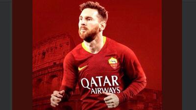 """La Roma reta de forma abierta y franca al Barcelona: """"Queremos a Messi"""""""