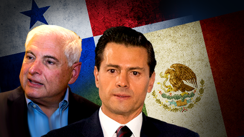 The presidents of Panama and Mexico are caught up in alleged abuses of a...