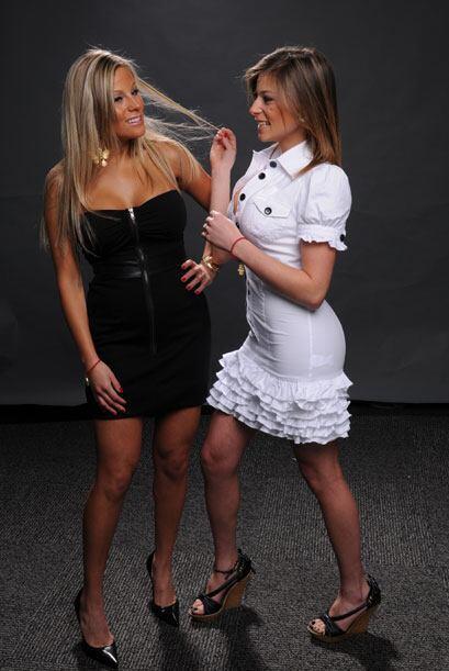 Ellas son las Hermanitas Problemita, Cindy y Brigitte.