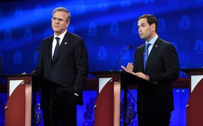 Jeb Bush, de favorito a decepción del Partido Republicano GettyImages-49...
