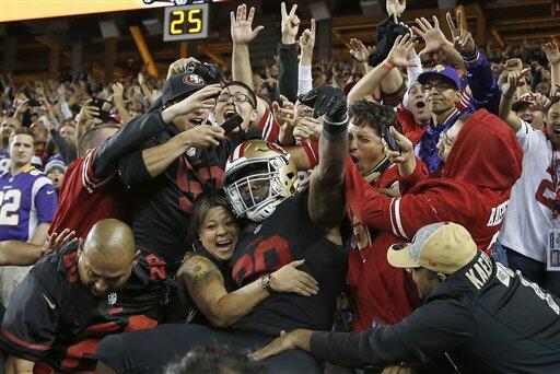 Con muchas dificultades los SF 49ers cerraron la primera jornada de la N...