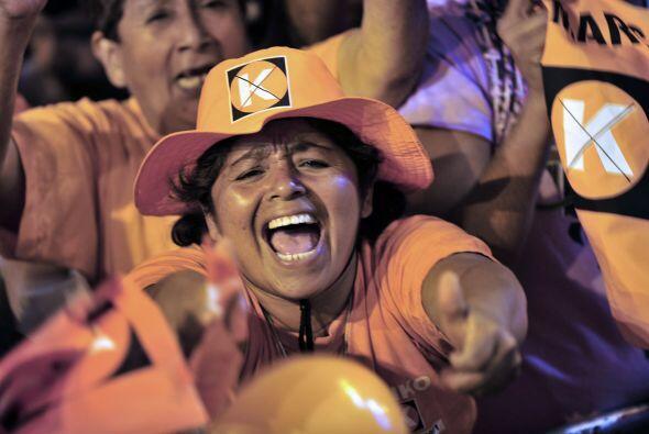 Esa ligera ventaja de Fujimori sobre Humala es considerada como un empat...