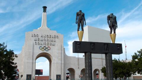 El estadio donde se realizaron los Juegos de 1984.