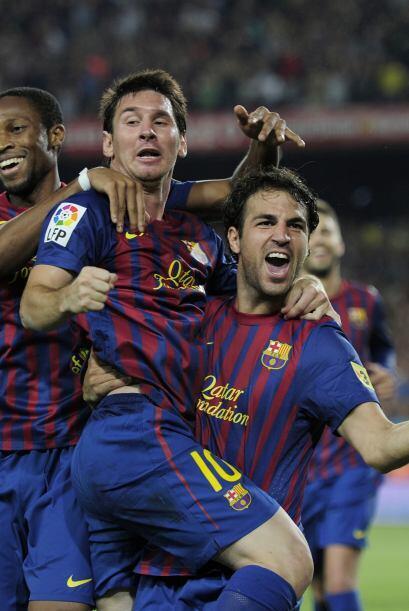 Para Fábregas era un momento más que especial tras 8 a&nti...