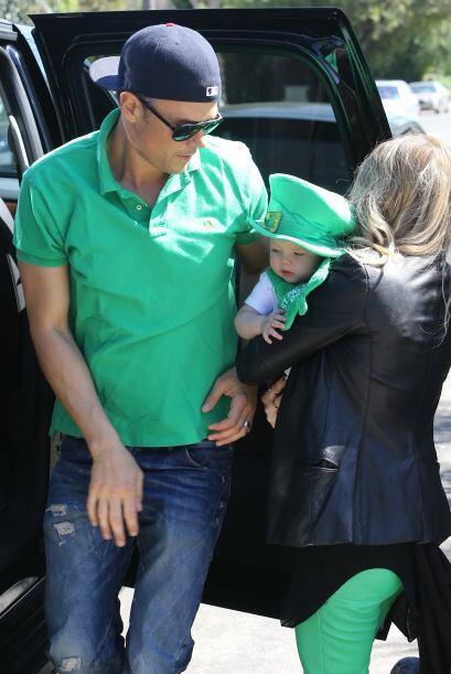 Fergie no soltó a su hermoso hijo hasta que llegó el turno...