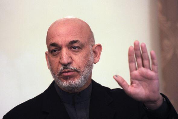 Otro de los 'salpicados' por los documentos fue el presidente de Afganis...