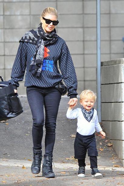 Fergie es toda una mami consentidora.