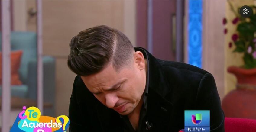 Las lágrimas de dolor de Larry Hernández