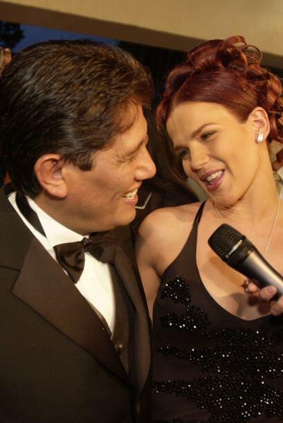¿Se acuerdan de este par de inseparables? Juan Osorio y Niurka Marcos. ¿...