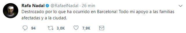 El mundo del deporte se solidariza con las víctimas de Barcelona BCN11.JPG