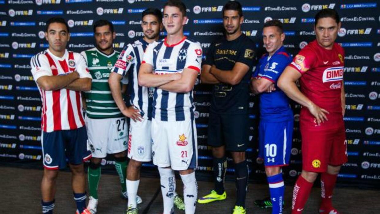 Estrellas de la Liga MX se disputan la portada del FIFA 16 FIFA16.jpg