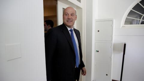 El director del Consejo Económico Nacional de la Casa Blanca, Gar...
