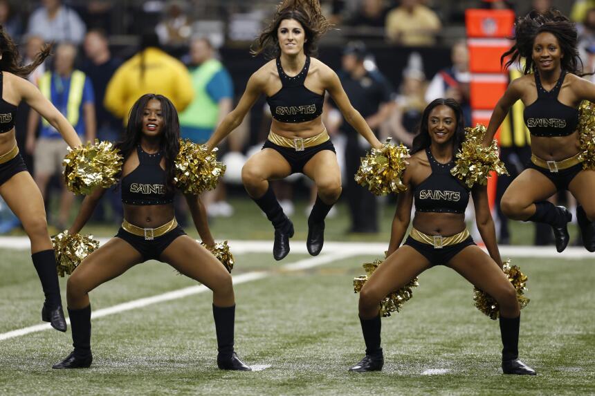 Las cheerleaders de la NFL te muestran todo su candor en la Semana 16, ¡...