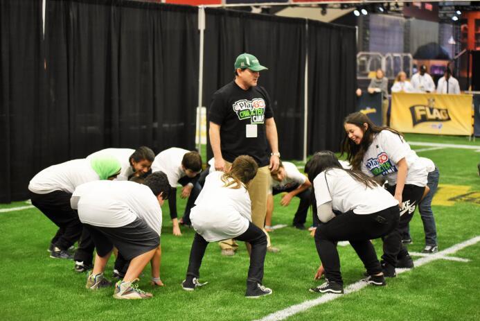 Actividades dentro del programa Play60 de la NFL