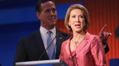 Carly Fiorina, candidata republicana