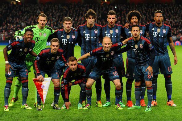 Los futbolistas del Bayern de Múnich son los mejor pagados de la Bundesl...