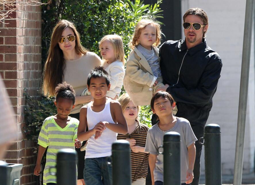 Hijos de Angelina Jolie