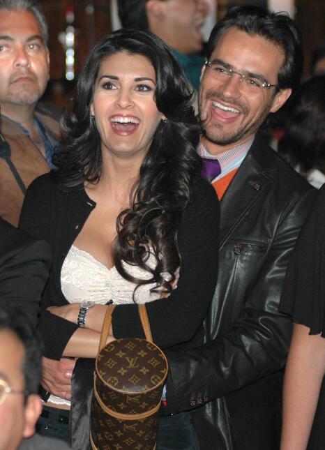 Mayrín Villanueva y Jorge Poza