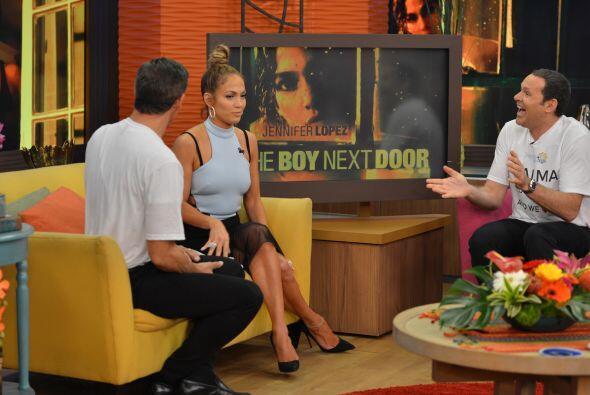 Jennifer Lopez es muy profesional y habló de la química que se dio entre...