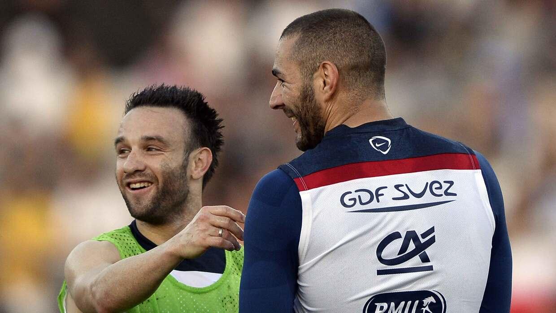 Valbuena no descarta jugar junto a Benzema