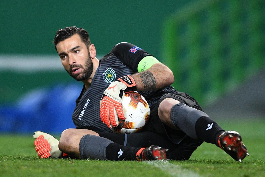 19. Rui Patricio (Sporting C.P. - Portugal): 19,6 millones de dólares