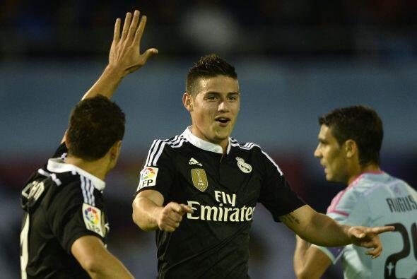 James Rodróiguez también se hizo presente en el marcador con un gol.