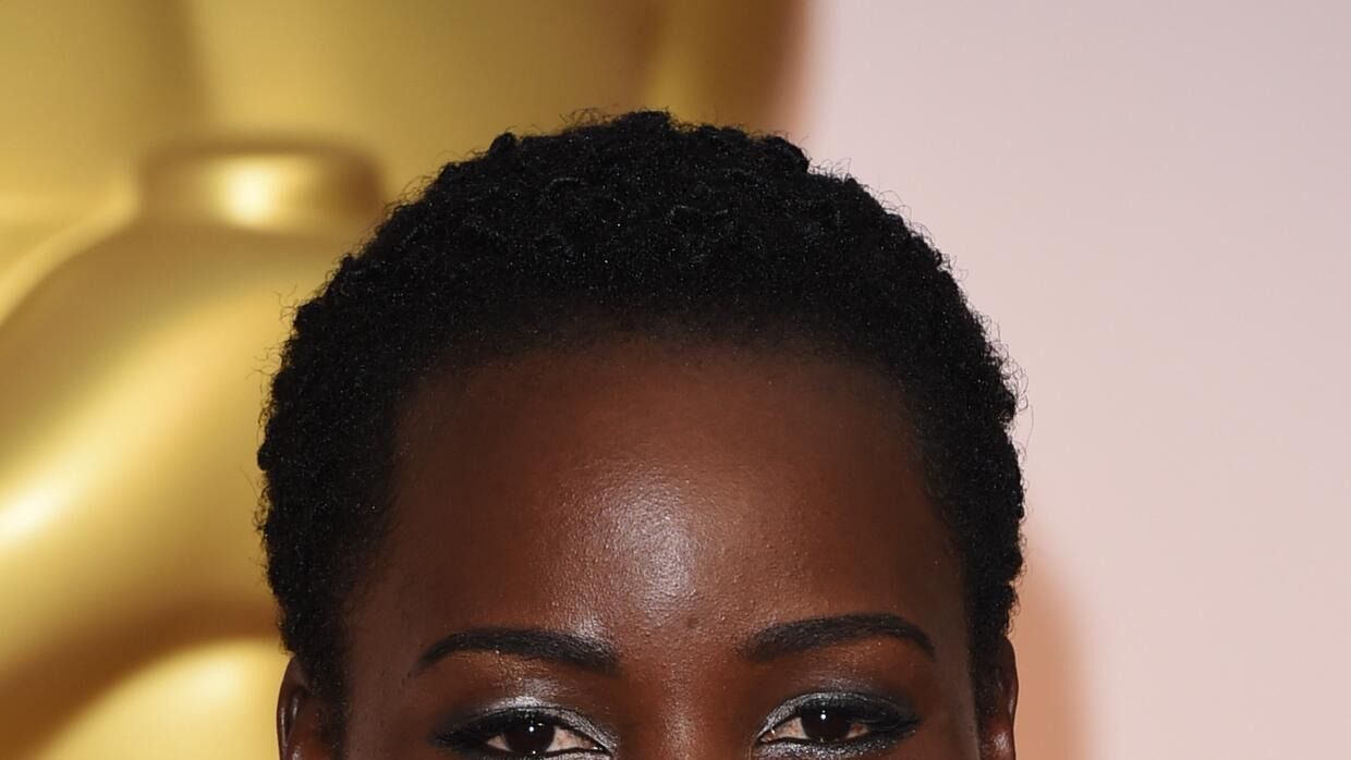 Actress Lupita Nyong'o arrives at the Oscars at Hollywood & Highland Center