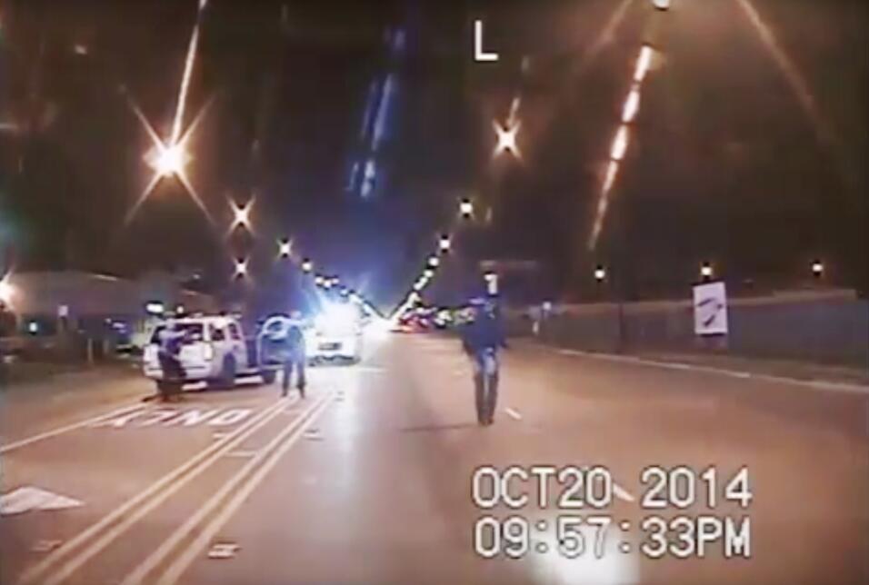 Imagen tomada de un video captado desde el tablero de un vehículo y prov...