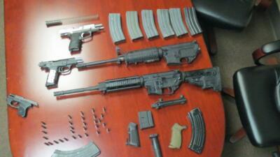 Armas decomisadas
