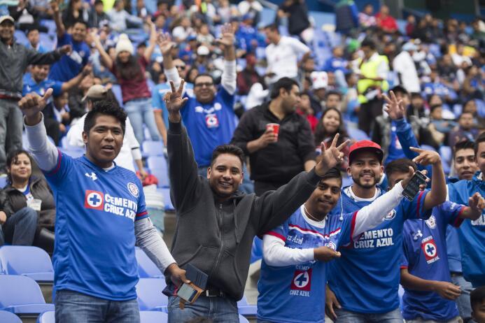 Estadio Cuauhtemóc: 16,716 espectadores
