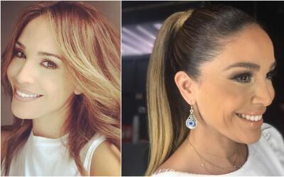Los peinados de Karla Martínez