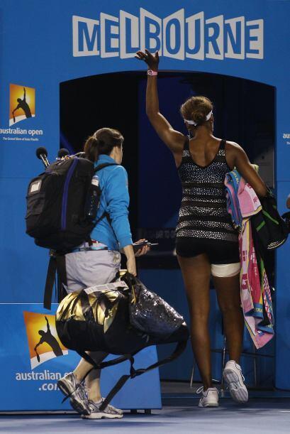 Venus, no ha podido regresar a las canchas desde su eliminación en los d...